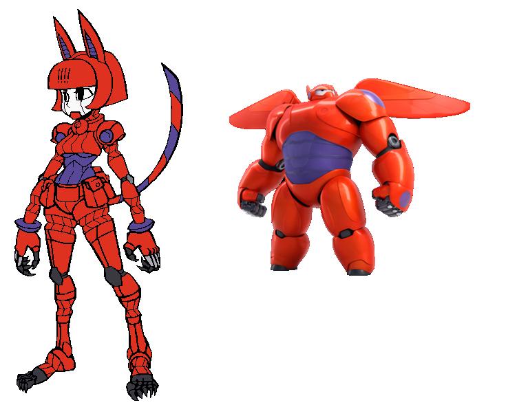 Robo-Fortune Baymax Palette by devvieartmanIII