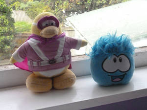 My Club Penguin Plushies