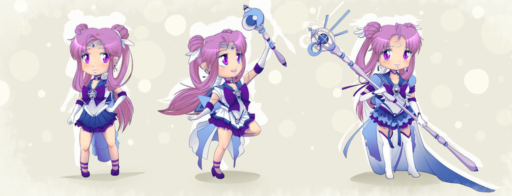 Sailor Comet forms