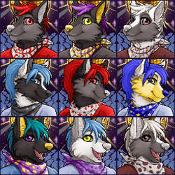 Club Nocturne Canine port set by Hinderence