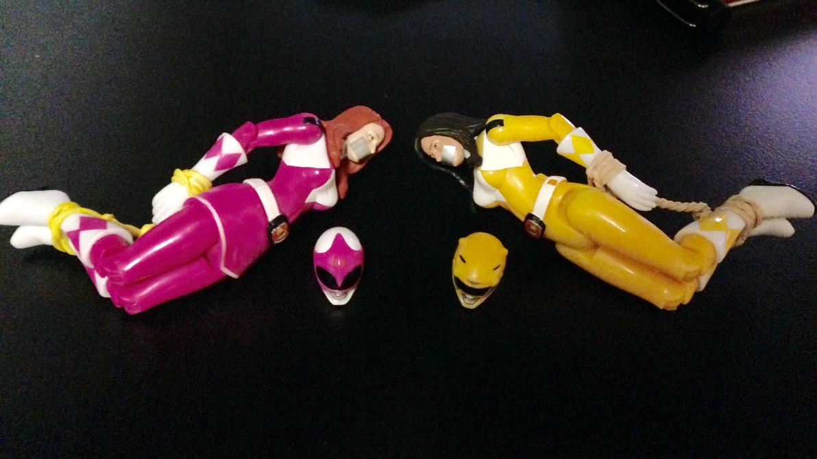pink yellow ranger captured erotic