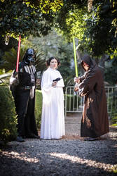 Vader and family by Horakso