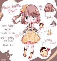 Waffle chann (OC) (+Video) by Minaru-Art