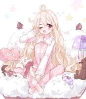 CM| Sleeping Time by Minaru-Art