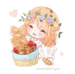 Creamsherry by Minaru-Art