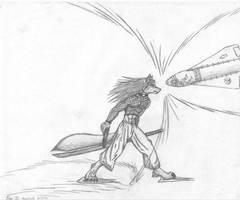 Bay vs maverick missile