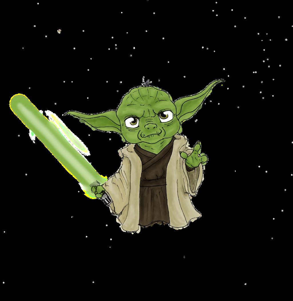 chibi Yoda by minihumanoid on DeviantArt