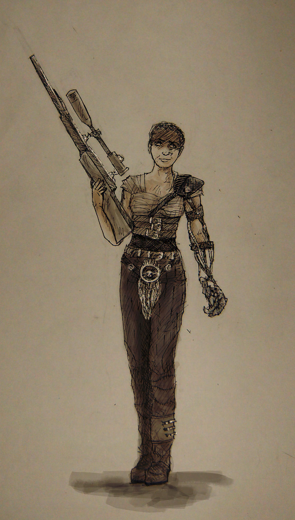 Furiosa (drawing training) by minihumanoid