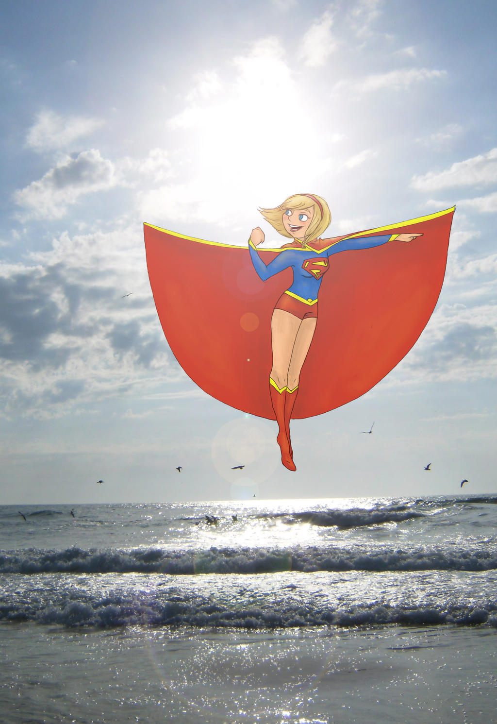 Supergirl by minihumanoid