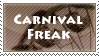 [Stamp] Carnival Freak by Shark-Fujishiro
