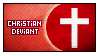 Christian Deviant Stamp by Shark-Fujishiro