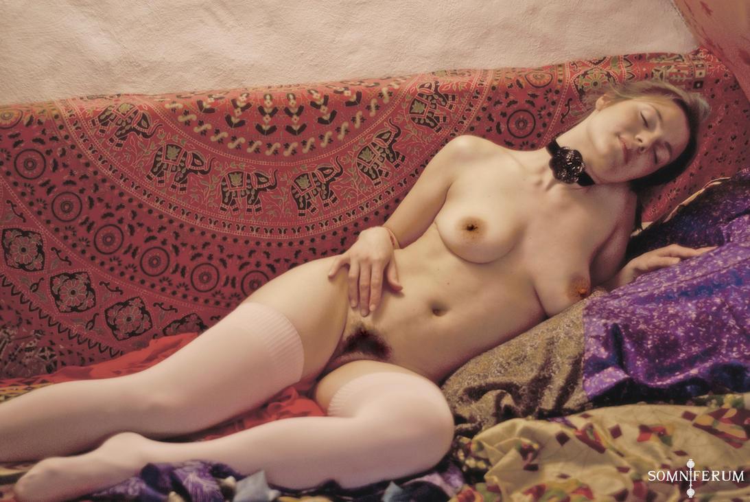 Lady In Wait by somni-ferum