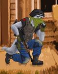 RvsS: Mercenary wolf