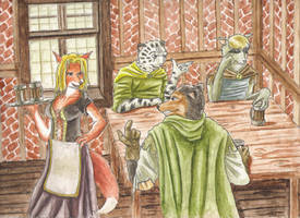A visit to the local tavern by SteinWill