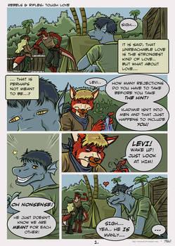 Comic: Tough love p1