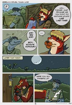 Comic: Tough love p2
