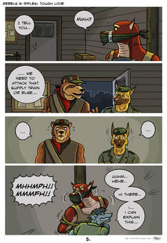 Comic Tough love p5