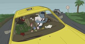 Crazy Taxi!