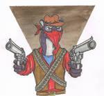 The bandit named Bandit that turned to banditry