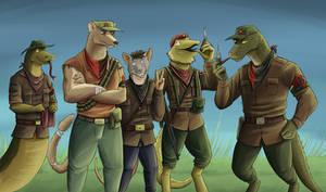 Rebel Group Drawing