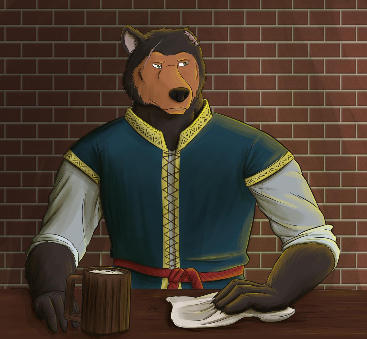 Duncan the Barkeep