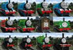 Thomas and friends Steam Team CGI