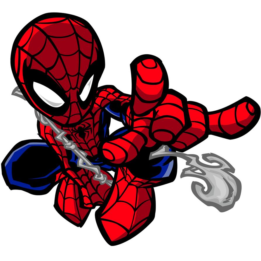 spiderman chibi