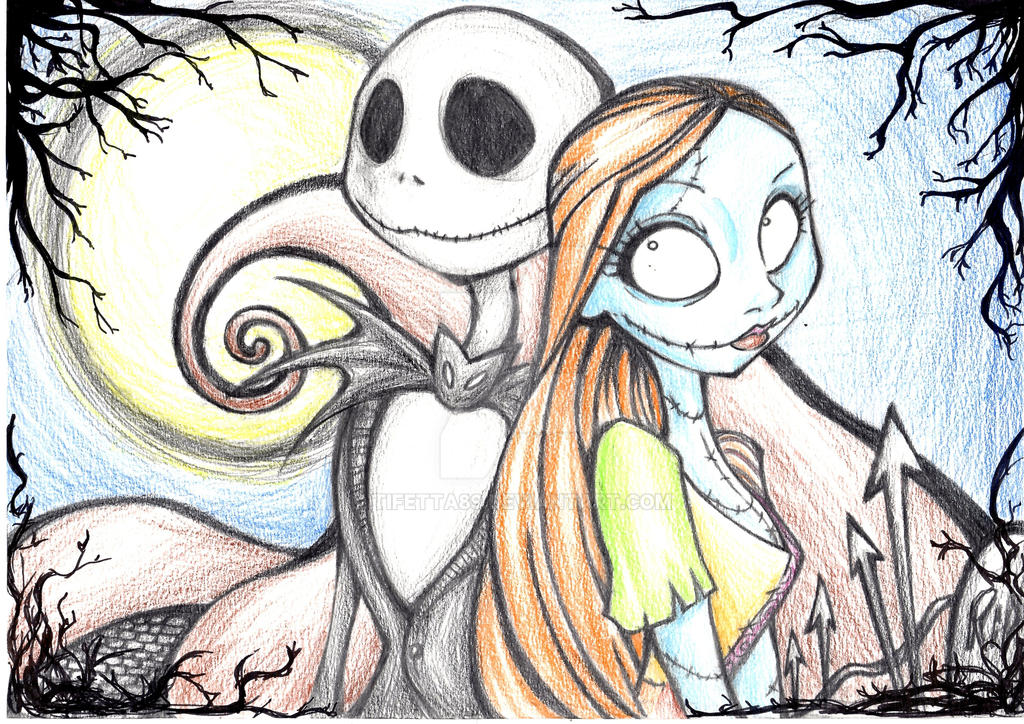 Jack and Sally by Tifetta89 on DeviantArt