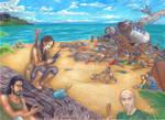 Lost Katniss in Lost' s Island by ElysLockheart