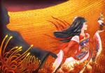 Come With Me... - Higanbana Evolution Onmyoji FArt by ElysLockheart