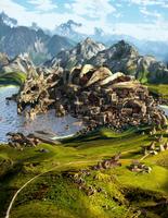 Dragon City by Kwiatek14