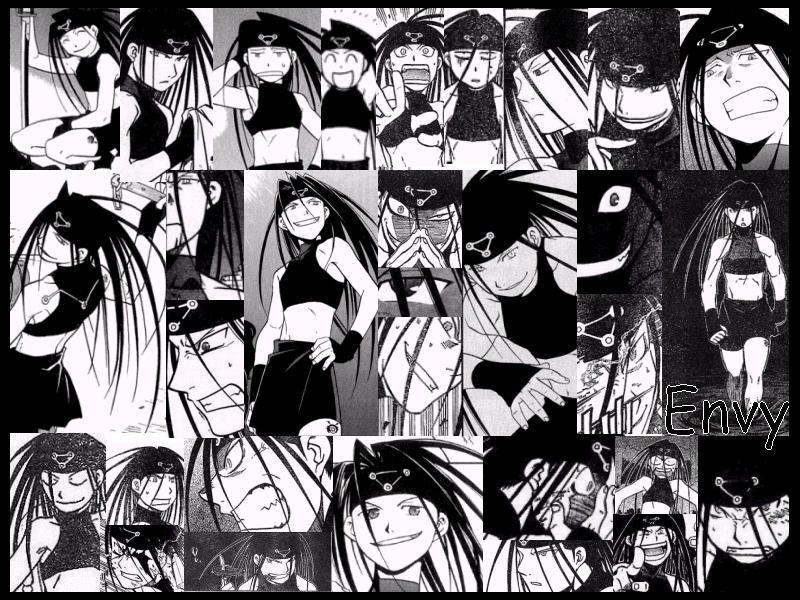 Manga Envy Wallpaper By Araki Chan