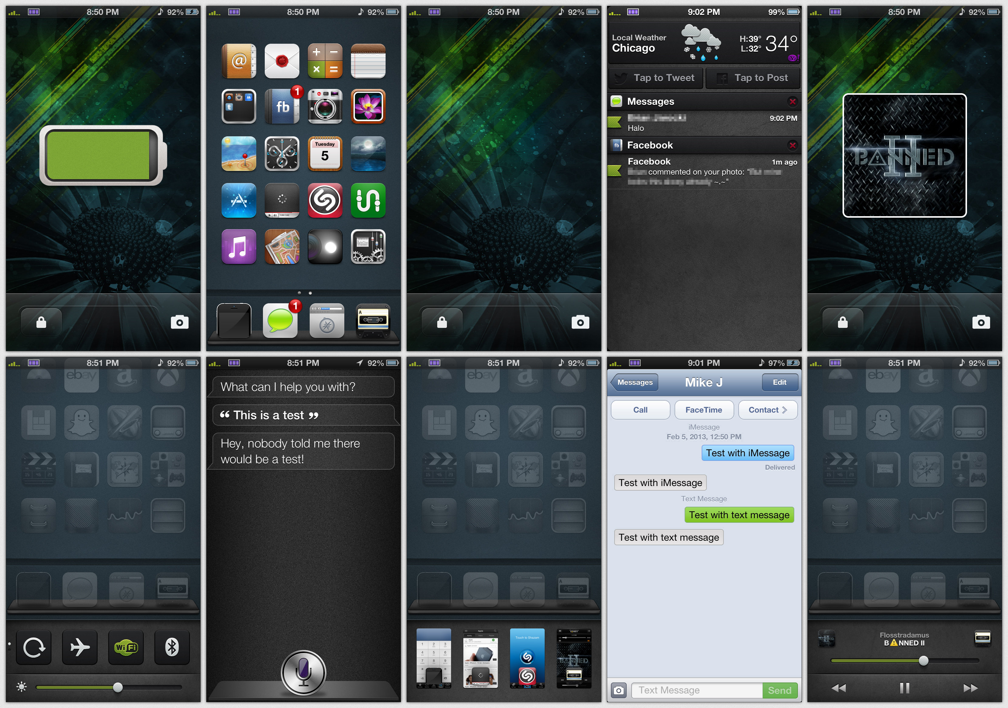 how to screenshot on iphone 5 my iphone 5 ios 6 screenshot by mik3j on deviantart 19071