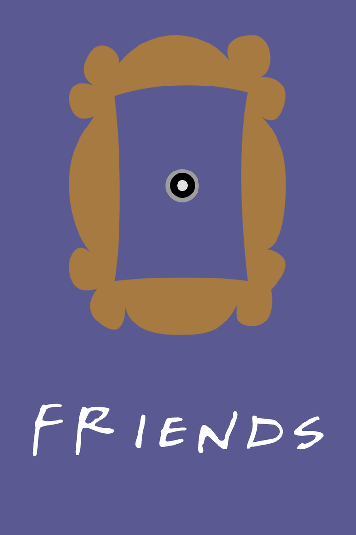 Friends Poster By Lostofan