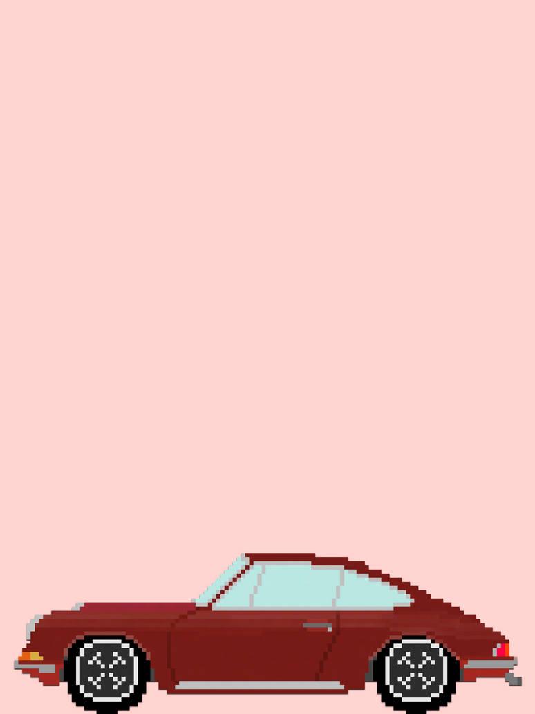 Pixel 1970 Porsche 911t By Lostofan On Deviantart