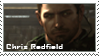Stamp_Chris Redfield by xs13sx