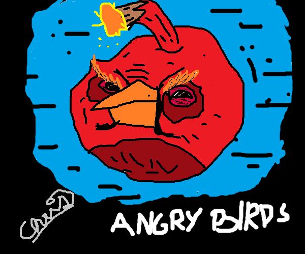 Angry Birds:Black Bird by dagsdooy7