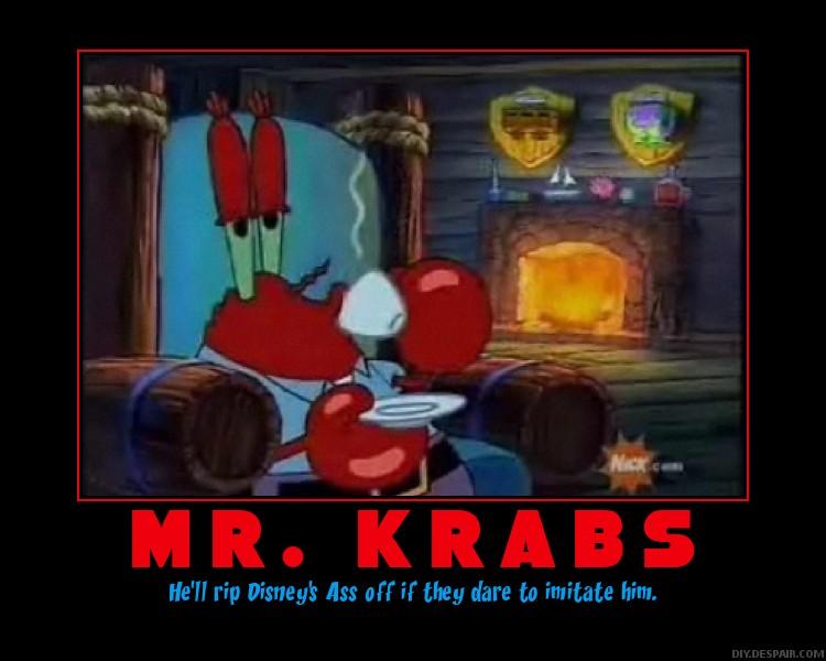 Mr. Krabs by Zemial99 on DeviantArt