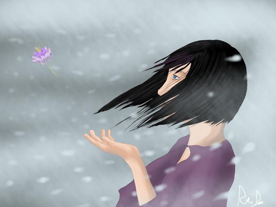 Lyne in the snow