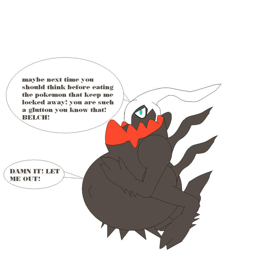 Darkrai Ate Mewtwo After He Ate Lugia Arceaus by ...