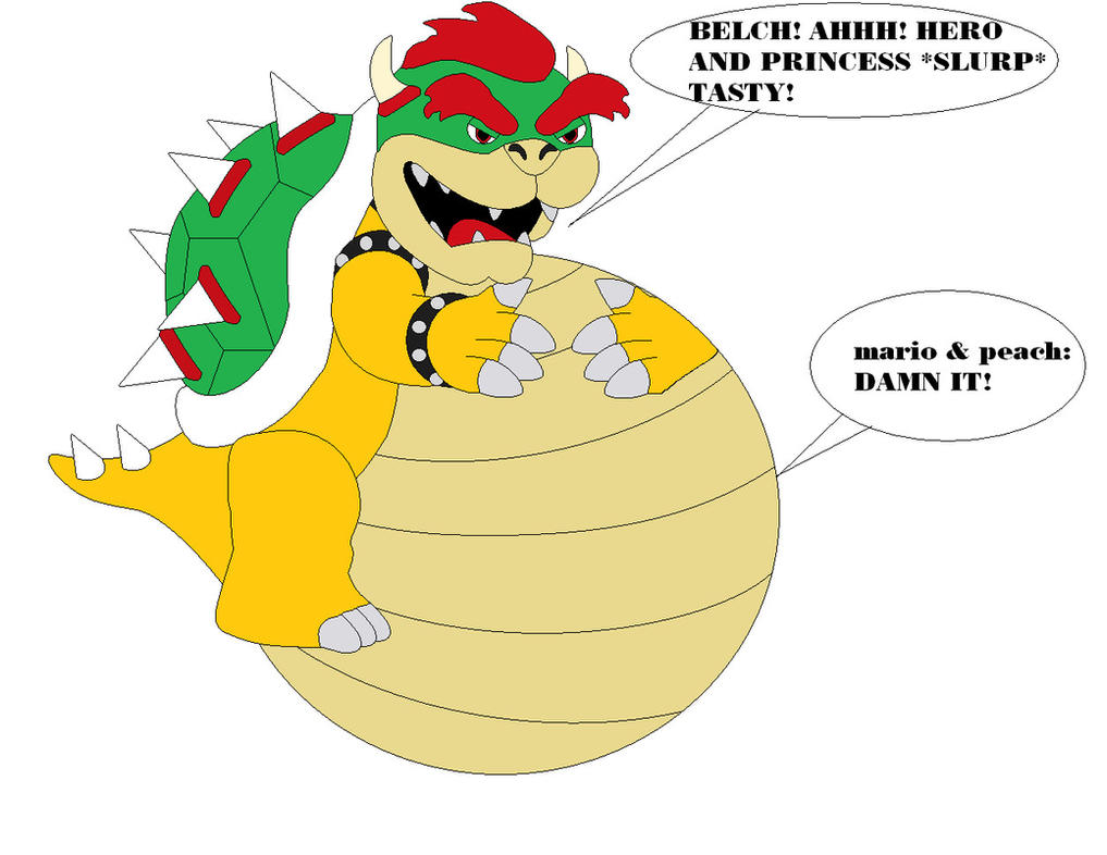 Bowser Cake Complex Part 4 by samus0suit