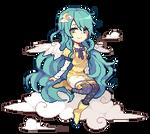 Commission: Luna Pixel by Rehmiel