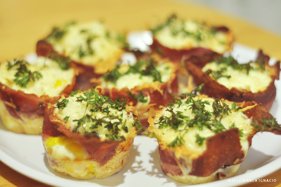 bacon egg cupcakes 2 by himynameisbianca on DeviantArt