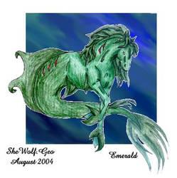 Emerald by SheWolfGeo