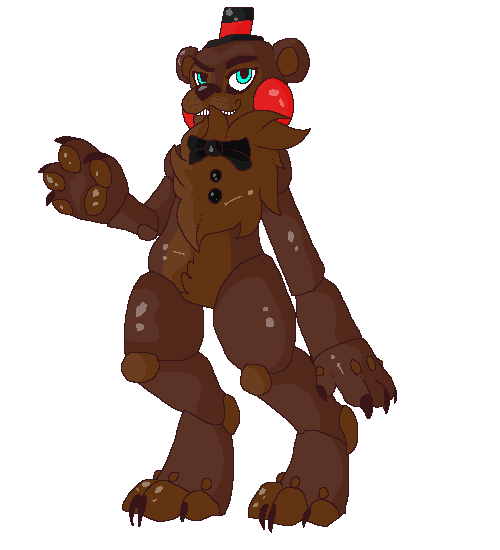 Toy freddy by chicatheduck on deviantart