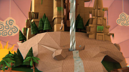 Welcome to Papercraft Island by PaulChambers3D