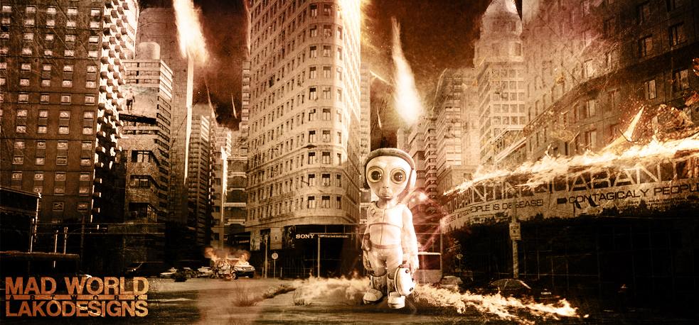 Mad World Artwork by LakoDesigns