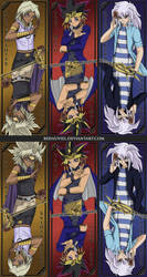 Yu-Gi-Oh: Light and Darkness Bookmarks
