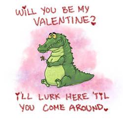 Valentines 2012 - Crocodile