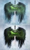 League of Legends Noxus Logo - reupload green